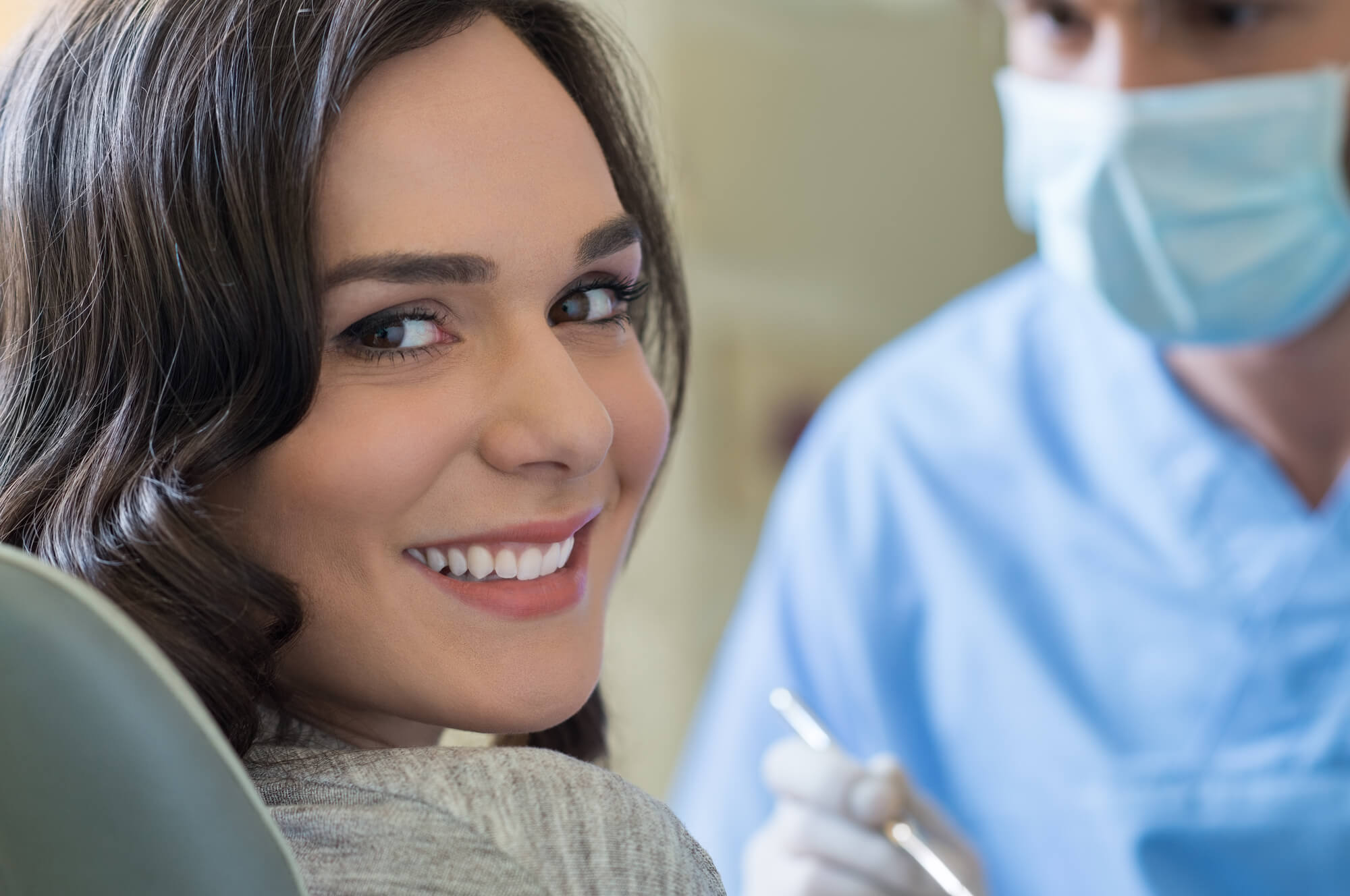 woman in Best Dentist Cary NC